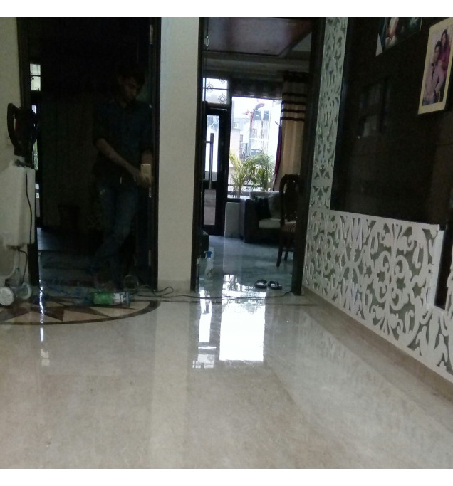 Commercial Floor Polishing Service